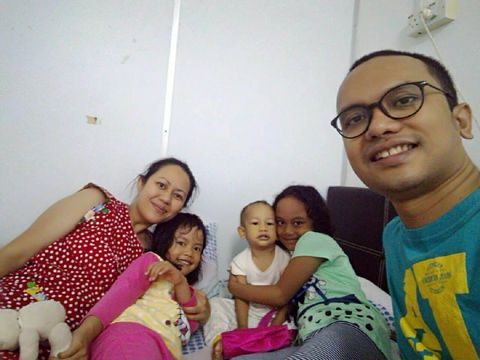 Christopher dan keluarganya