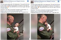 Reagan, bayi yang pertama kali melihat ayahnya dengan jelas