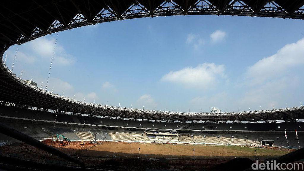 Melihat Perkembangan Renovasi Stadion GBK