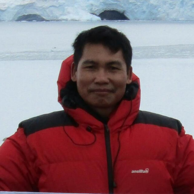 Wayan Suparta, Ukur Perubahan Iklim Sejak 2003 hingga ke Antartika