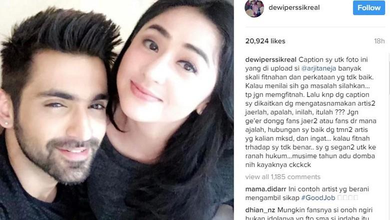 Foto Sama Cowok Ganteng, Dewi Persik Di-bully Netizen