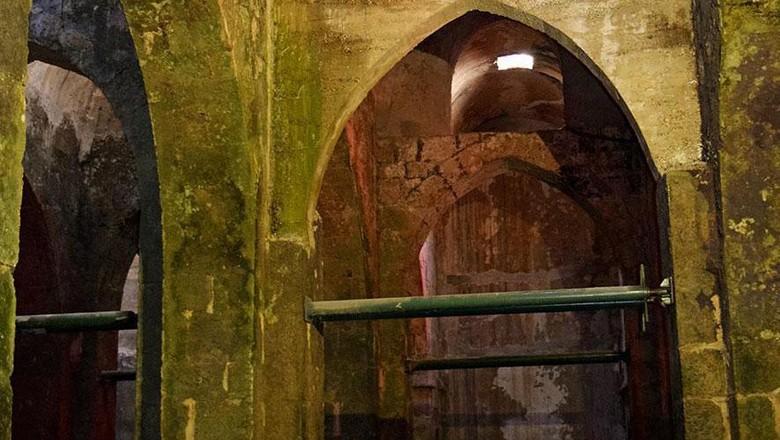 Waduk bawah tanah di Kota Ramla, Israel (Sara Toth Stub/BBC)