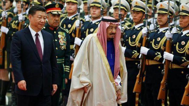 Ke China, Raja Salman Bahas Perdamaian Dunia dengan Xi Jinping