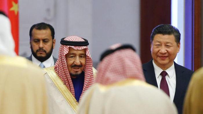 raja salman ke china