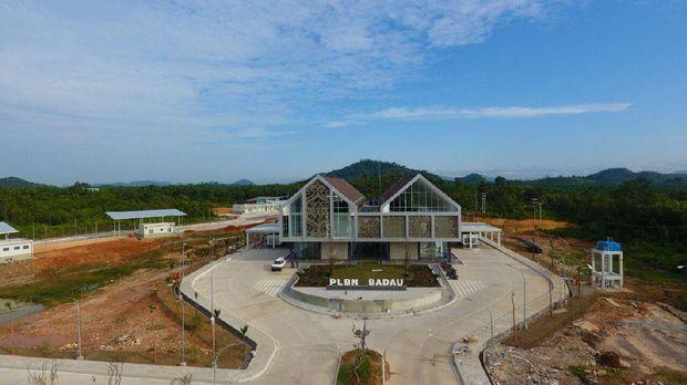 Begini Megahnya Pos Perbatasan Nanga Badau yang Diresmikan Jokowi