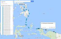 Ini Rute Detail Kapal Perusak Karang Raja Ampat