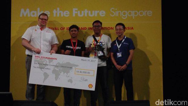 Keren, Mahasiswa Indonesia Rajai Lomba Mobil Hemat Energi