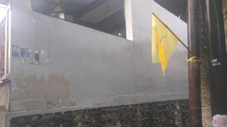 Bendera Kuning Dipasang, Rumah Duka Pahinggar Masih Sepi Pelayat