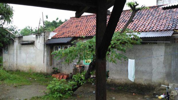 Kompleks lokasi rumah Indra di Jagakarsa.
