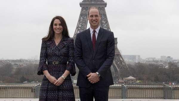Mesranya Pangeran William dan Kate Middleton di Paris
