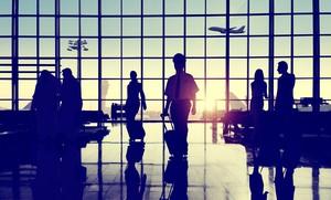 Hujan Deras, Muncul Geyser Dadakan di Bandara Ini