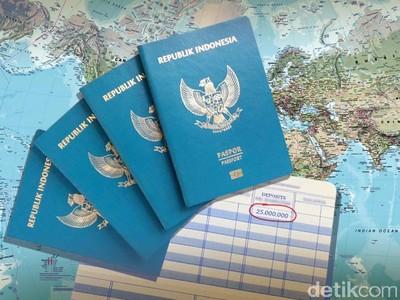 Di Negara ASEAN, Paspor Indonesia Peringkat Berapa?