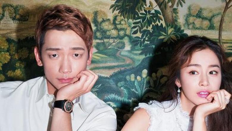 Kunci Keharmonisan Rumah Tangga Rain dan Kim Tae Hee/ Foto: dok. Harpers Bazaar Korea