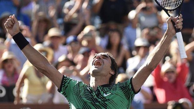 Roger Federer sudah meraih dua medali di Olimpiade.