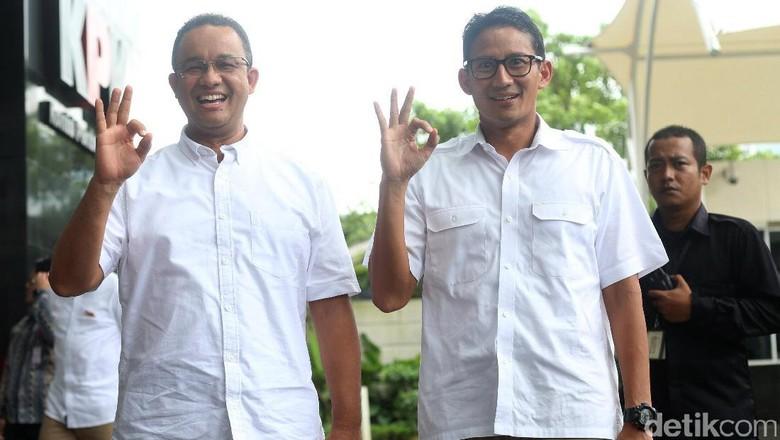 Sandiaga Ungkap Isi Pertemuan dengan Anies Soal Cawapres Prabowo