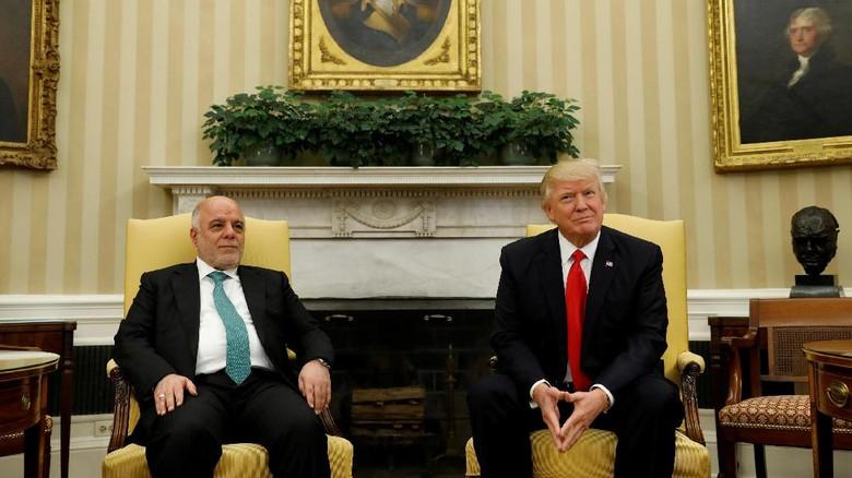 Warga Tak Lagi Dilarang ke AS, PM Irak Berterima Kasih pada Trump
