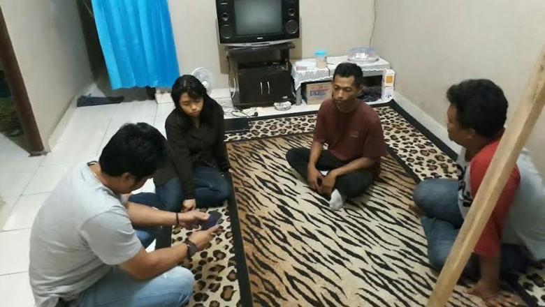 Dikawal Tim Anti Bandit, Beatrix dan Pacarnya Dibawa ke Surabaya
