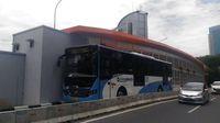 Sudah Rampung, Ini Penampakan Terkini Busway Layang Ciledug-Tendean