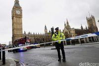 Teror di dekat Gedung Parlemen London.