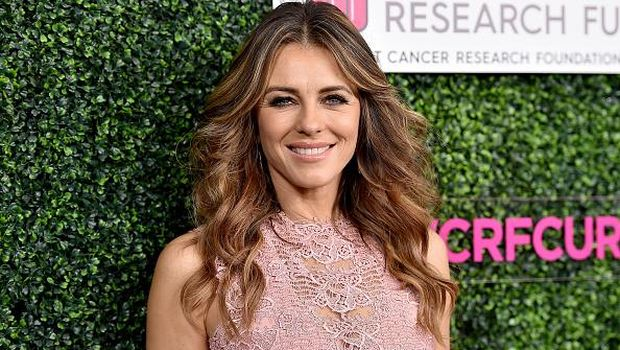 BEVERLY HILLS, CA - FEBRUARY 16:  Actor Elizabeth Hurley attends WCRF's