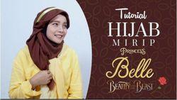 Video: Tutorial Hijab Mirip Princess Belle