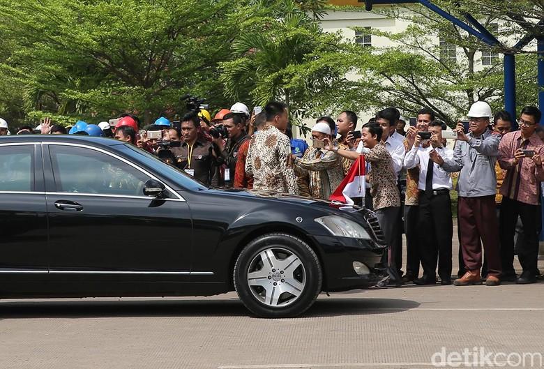 Konvoi presiden Jokowi. Foto: Ari Saputra