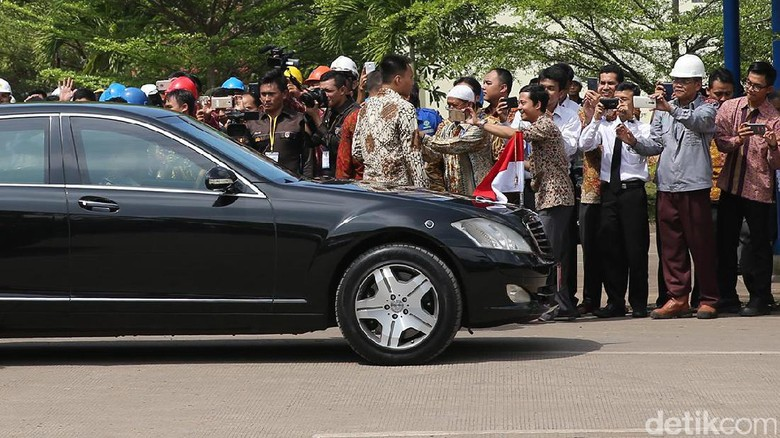 Mobil Kepresidenan Foto: Ari Saputra