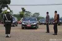 Mobil presiden yang lama