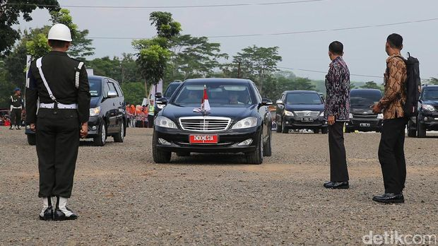 Ilsutrasi Mobil Presiden Jokowi