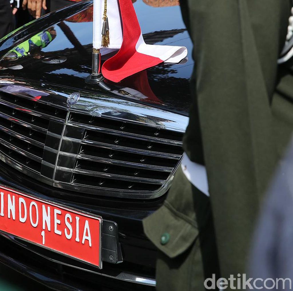 Sah! Ini Dia Mobil Dinas Baru untuk Joko Widodo