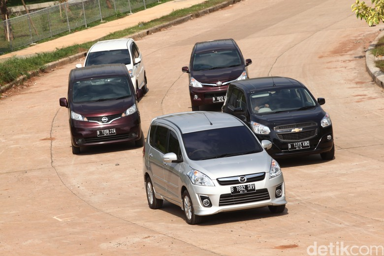 Line Up mobil MPV di Indonesia. Foto: dok detikOto