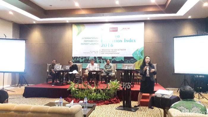 Foto: Seminar Bridging The Gap Between Education Policy and Implementation (Cici-detikcom)