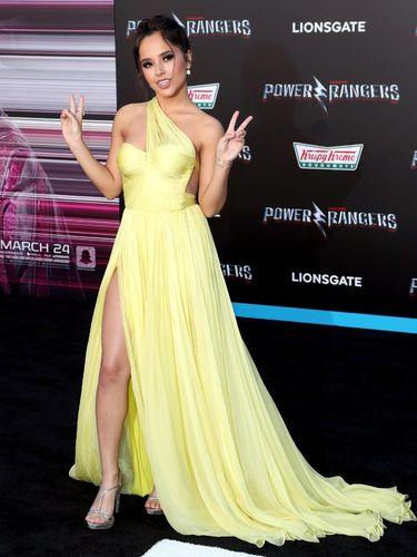 Naomi Scott yang berperan sebagai Putri Jasmine di film Aladdin.