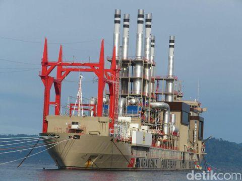 Kapal 'Genset Raksasa' Turki 60 MW