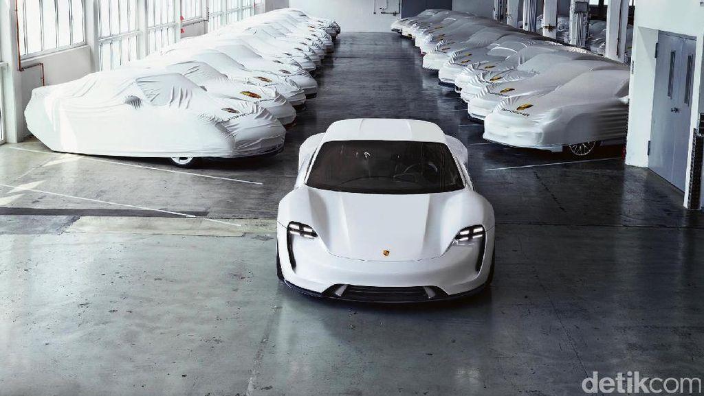 Unik, Mobil Listrik Porsche Namanya Mirip Sate di Indonesia