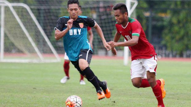 Saddil Ramdani memiliki banyak menit bermain di Timnas Indonesia baik level senior maupun U-19.