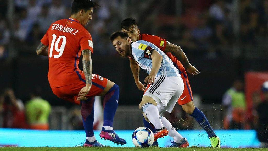 Head-to-Head Argentina Vs Chile: Tim Tango Masih Dominan