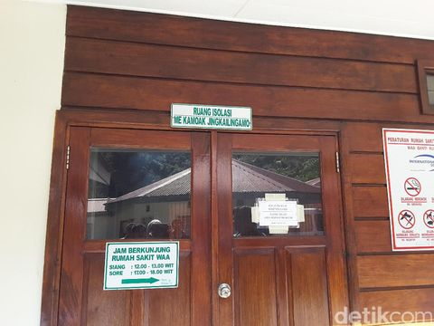 Ruang isolasi pasien TB RS Wa Banti