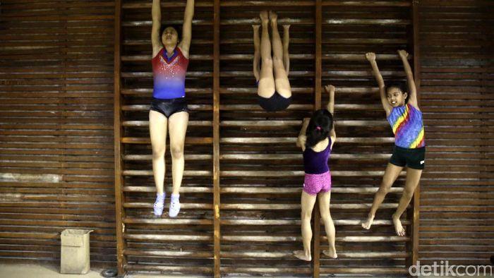 Rifda Irfanaluthfi, salah satu pesenam Indonesia yang sedang mengikuti kejuaraan di Rusia (Foto: Rachman Haryanto)