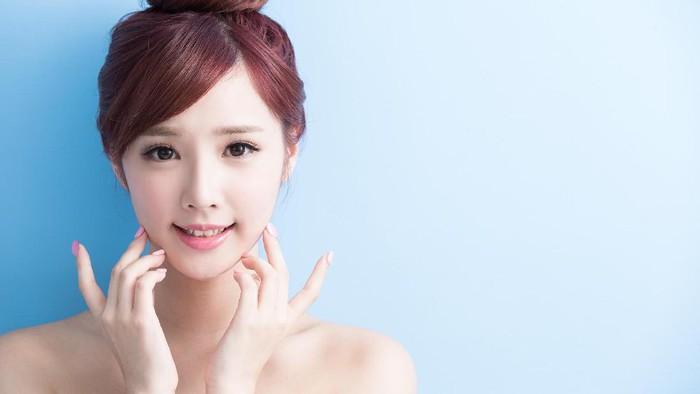 Ilustrasi wanita dengan kulit sehat. Foto: Thinkstock