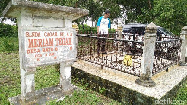 Meriam ini ada di Kecamatan Singkep, Kabupaten Lingga (Baban/detikTravel)