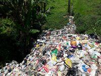 20 Hektare Sawah di Soreang Kabupaten Bandung Tercemar Sampah