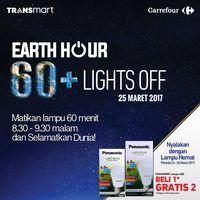 Sayangi Bumi dengan Promo Hemat Energi Transmart dan Carrefour