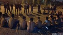 Polisi Razia Balapan Liar di Bekasi, 90 Remaja Ditangkap-75 Motor Disita