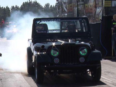 Begini Jadinya Kalau Jeep Diberi Turbo