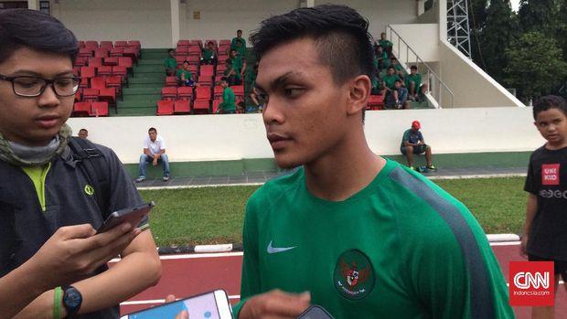 Rachmat Irianto bersyukur Timnas Indonesia U-19 lolos ke semifinal.
