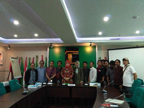 F-PPP di DPR menerima masukan dari pengemudi transportasi online