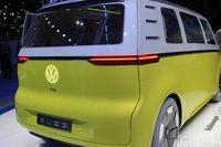 Bagian belakang VW I.D. Buzz