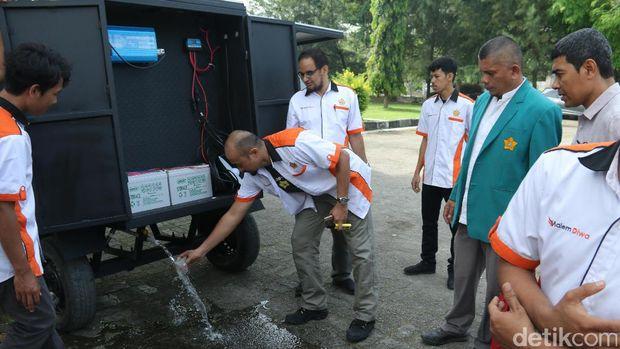 Unsyiah Aceh Ciptakan Alat Pengolahan Air Tenaga Surya