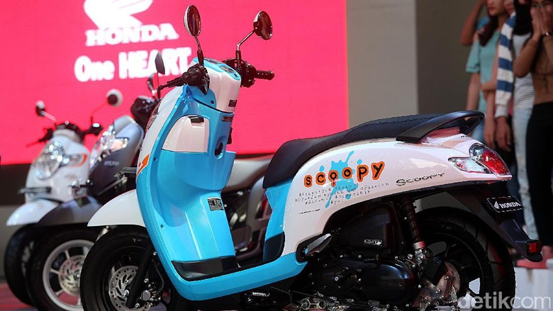 Honda Scoopy (Foto: Rengga Sancaya)